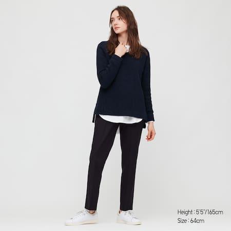 Women HEATTECH Smart Slim Fit Straight Leg Trousers