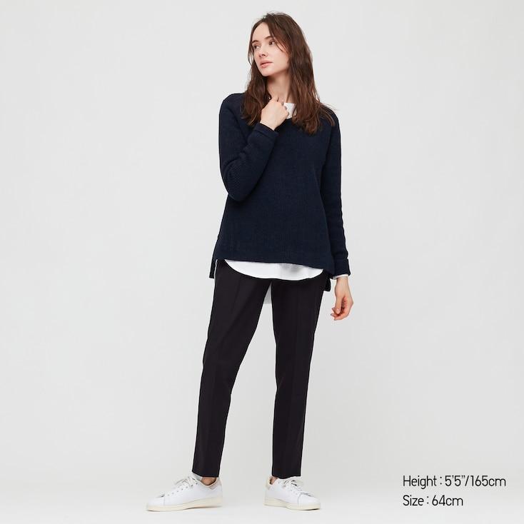 Women Heattech Smart Slim Fit Straight Leg Trousers Uniqlo Buy from our women slim fit trousers range at tu clothing. women heattech smart slim fit straight leg trousers