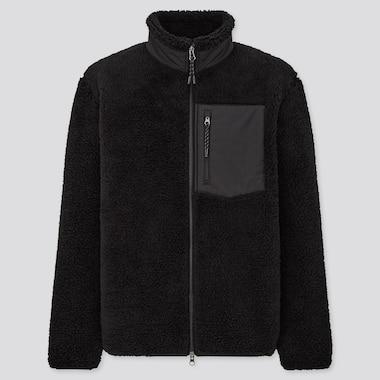 Men Windproof Lined Fleece Jacket