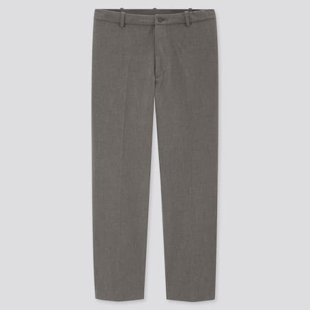 Men Smart Comfort Ankle Length Trousers (Long)