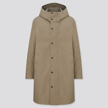 Men Blocktech Hooded Coat