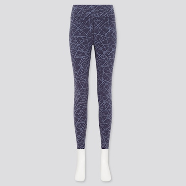 Women AIRism Soft Printed Leggings