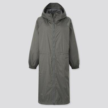 Women Light Blocktech Hooded Coat