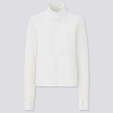 Women AIRism Mesh UV Protection Zipped Jacket