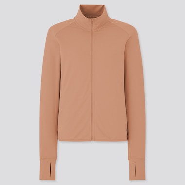 Women AIRism Mesh UV Protection Zipped Jacket