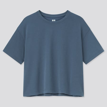 Damen Cropped DRY-EX T-Shirt