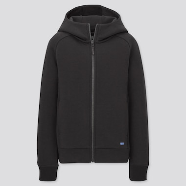Kinder Ultra Stretch DRY Sweatjacke mit Kapuze