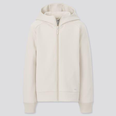Kinder Ultra Stretch DRY Sweatjacke mit Kapuze