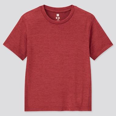 Kids DRY-EX Crew Neck Short Sleeved T-Shirt