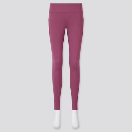 Damen AIRism Active Soft Leggings mit Taschen und UV-Schutz