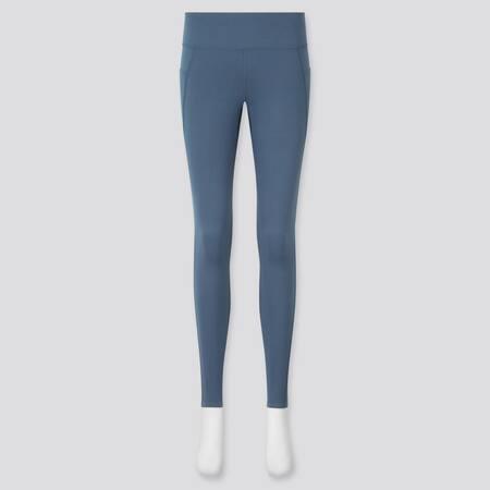 AIRism Leggings Protección UV Suaves Bolsillos Mujer