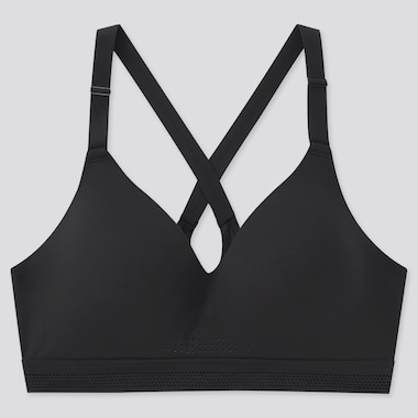 Women Cross Back Active Wireless Bra