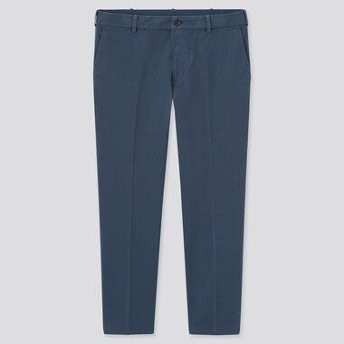 Herren Smart Komfort Stoffhose in 7/8-Länge aus Baumwolle (Lang)