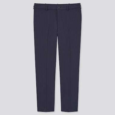 Pantalon Smart Confort 7/8ème Stretch à Rayures Homme