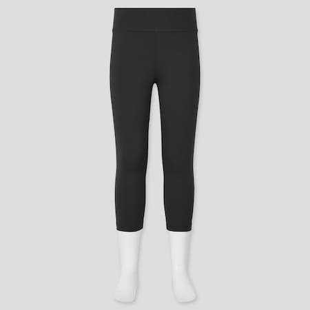 Girls AIRism UV Protection Cropped Leggings