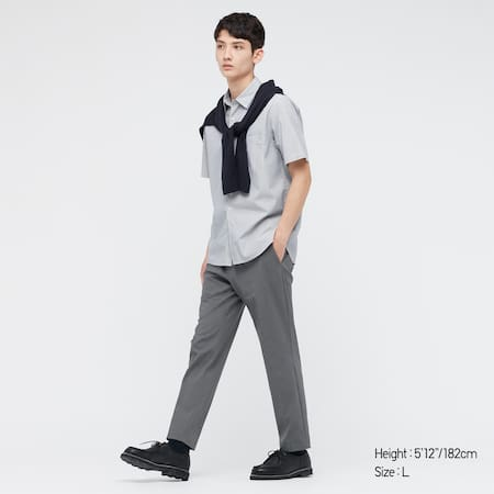 Men Smart Comfort DRY-EX Ultra Ankle Length Trousers