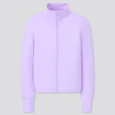 Kinder AIRism Sweatjacke mit UV-Schutz