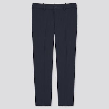 Pantalon Smart Confort 7/8ème Stretch à Rayures Homme (Long)