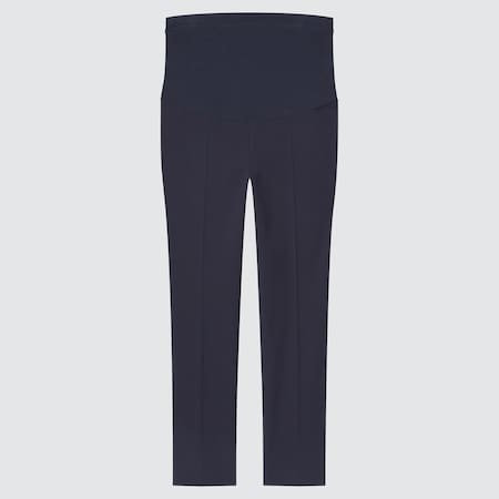 Women Maternity Smart Comfort Stretch Ankle Length Trousers