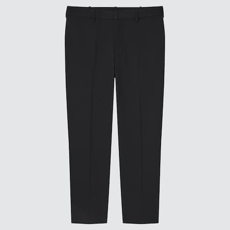 Men Smart Comfort Ankle Length Trousers