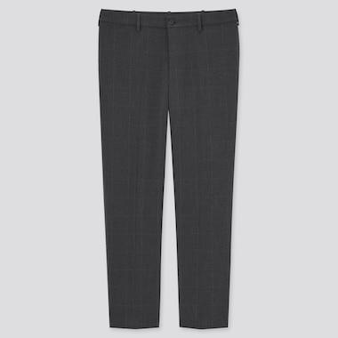 Pantalon Smart Confort 7/8ème Stretch à Carreaux Homme (Long)