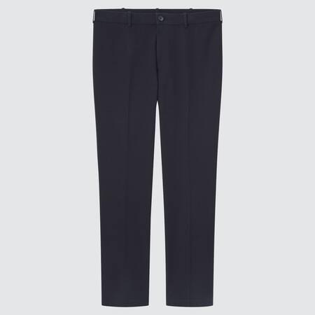 Men Smart Cotton Stretch Ankle Length Trousers (Long)