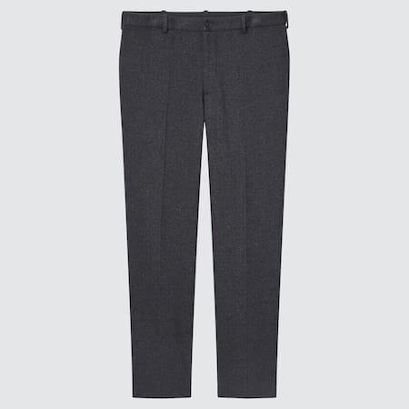 Men Smart Jersey Ankle Length Trousers (Long)