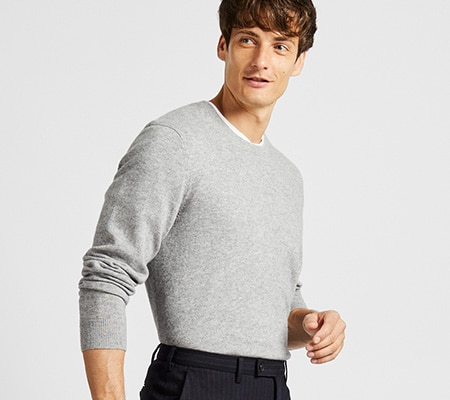 598da42cd83 Men's Jumpers & Cardigans | Cashmere, Merino & Cotton | UNIQLO