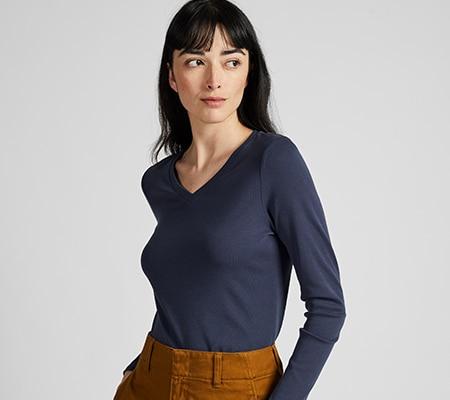 4a872c466f T-shirts Femme | UNIQLO FR