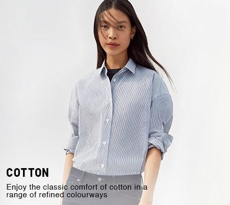 ceda057bf2a Women's Shirts & Blouses | UNIQLO