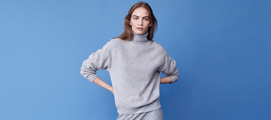 adcf5c62a48 Women's cashmere Jumpers | UNIQLO UK