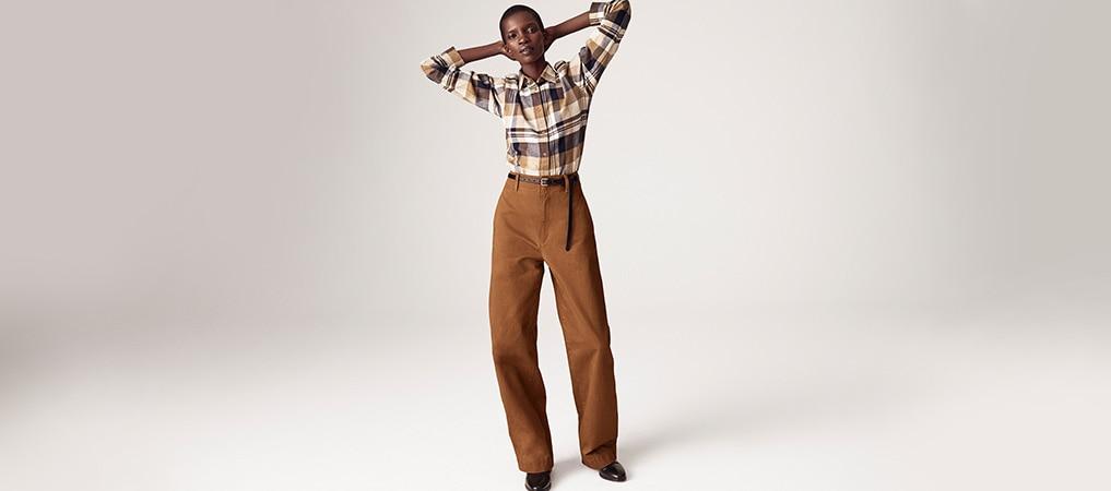 Pantaloni & Jeans curvati