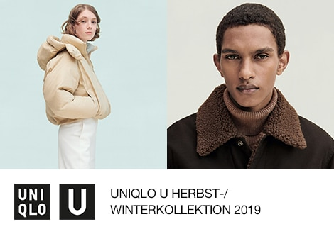 UNIQLO U HERBST/WINTER 2019 | ERHÄLTLICH AB 26. SEPTEMBER