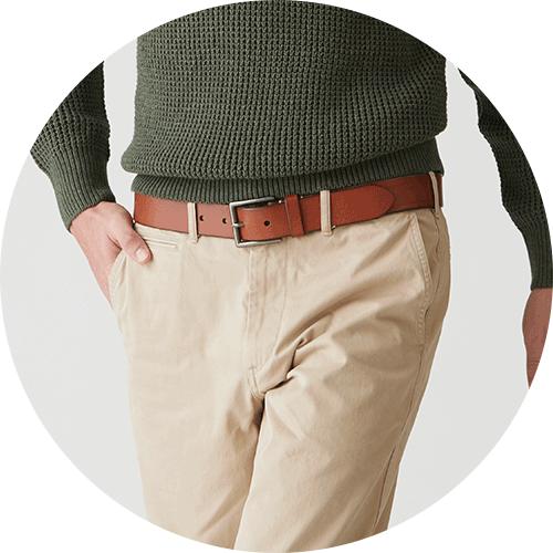 Italian Leather Vintage Belt
