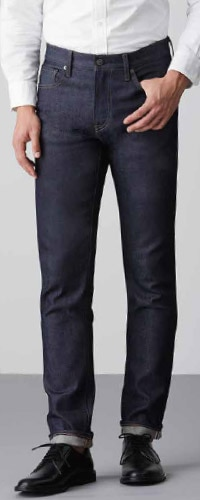 Stretch Selvedge Slim Fit Jeans