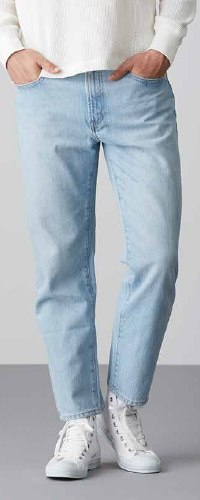 Jeans Tapered Coupe Regular