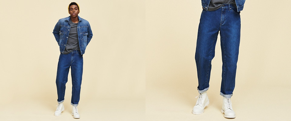 ULTRA LIGHT 3D REGULAR FIT TAPERED JEANS