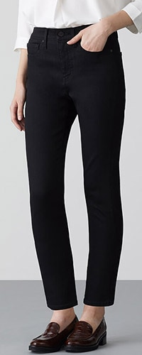Figurformende Jeans in 7/8-Länge (Skinny Fit)
