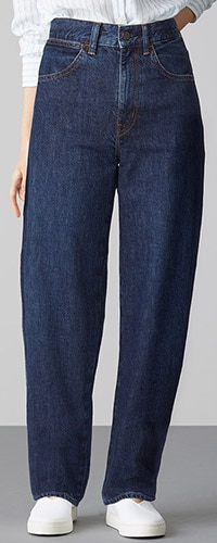 UNIQLO U COCOON JEANS (WIDE FIT)