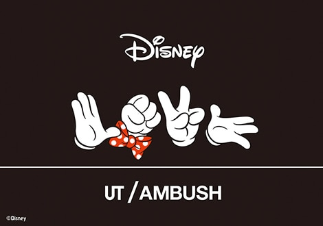 LOVE MINNIE MOUSE COLLECTION BY AMBUSH