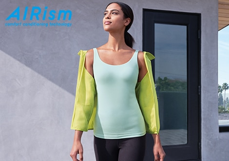 AIRISM SLEEVELESS BRA TOP