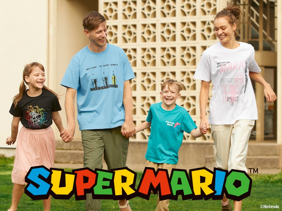 SUPER MARIO 35TH ANNIVERSARY UT COLLECTION