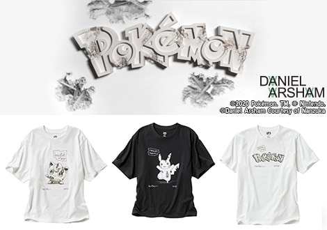 DANIEL ARSHAM X POKéMON | AVAILABLE NOW