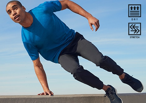 DRY-EX ULTRA STRETCH ACTIVE JOGGERS