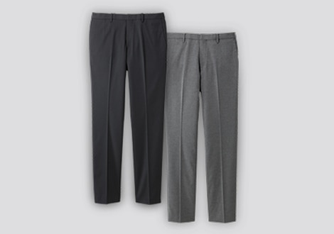 PANTALONI EASY CARE ELASTICIZZATI SLIM