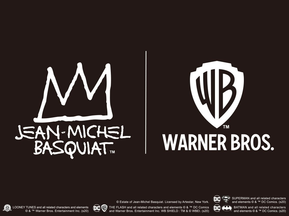 JEAN-MICHEL BASQUIAT X WARNER BROS. | AVAILABLE NOW