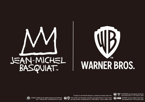 JEAN-MICHEL BASQUIAT X WARNER BROS