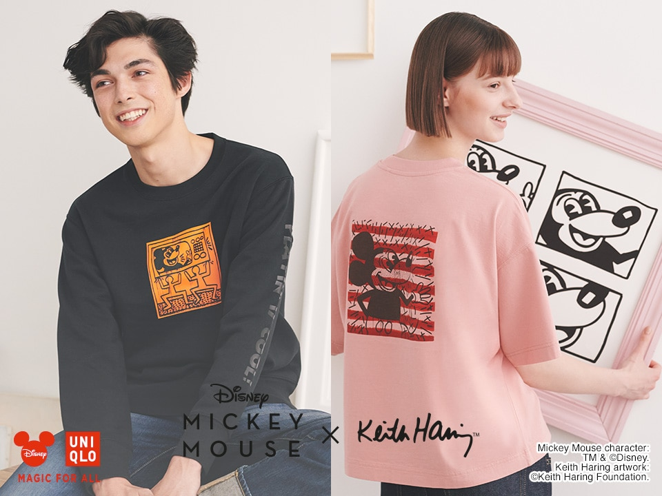 MICKEY MOUSE x KEITH HARING | COLLECTION UT