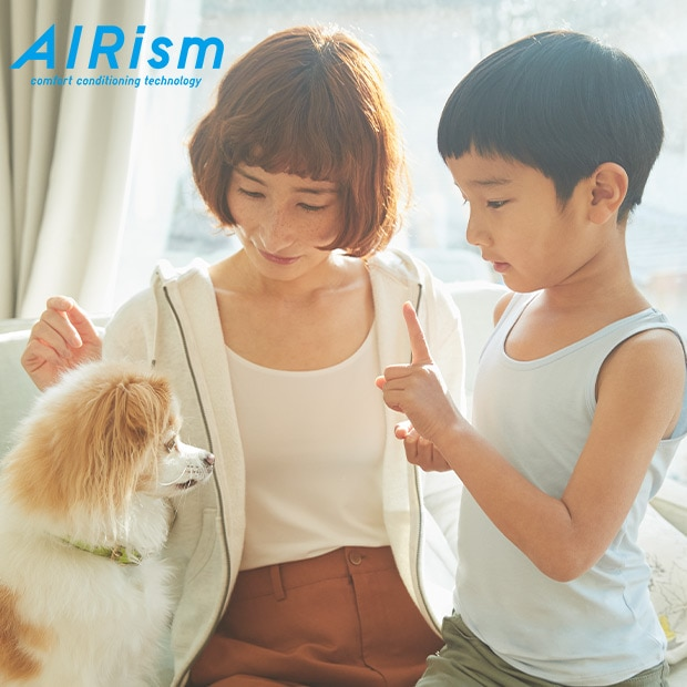 AIRISM | COOLING COMFORT FOR ANY OCCASION