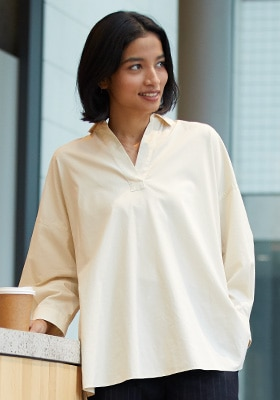 Cotton Shirts & Blouses